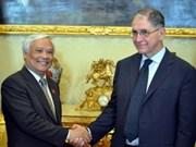 Visita Italia delegación parlamentaria vietnamita