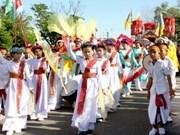 Festival Kate de los Cham en Binh Thuan