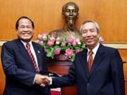 Organizaciones de masas de Viet Nam y Camboya impulsan cooperación