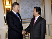 Impulsan Viet Nam y Ucrania lazos multifacéticos