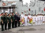 En Viet Nam buques de la Armada Real de Australia