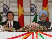 Presidente continúa gira por la India