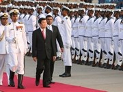En Sri Lanka el presidente Truong Tan Sang