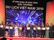 Entregan premio de turismo de Viet Nam