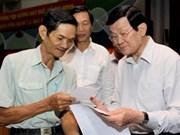 Presidente vietnamita urge reformar política salarial