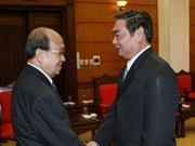 En Viet Nam delegación laosiana del Comité de Paz
