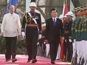Presidente vietnamita visita Filipinas