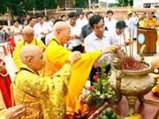 Sangha Budista de Viet Nam celebra aniversario