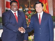 Refuerzan relaciones Viet Nam y Namibia