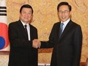 Viet Nam y Sudcorea impulsan asociación estratégica