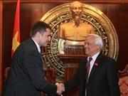 Viet Nam y República Checa intensifican nexos legislativos