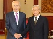 Refuerzan relaciones de cooperación entre Vietnam e Israel