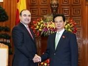 Vietnam y Albania intensifican nexos