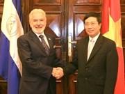 Establecen Vietnam y Nicaragua mecanismo de consulta política
