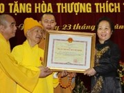 Falleció vicepresidente de Sangha Budista de Vietnam