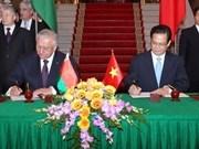 Vietnam y Belarús promueven cooperación