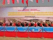 Inician construcción de terminal 2 de aeropuerto internacional de Noi Bai