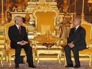 Vietnam y Cambodia estrechan colaboración