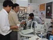 Exposición internacional de medicinas en Vietnam
