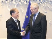 Presidente parlamentario vietnamita concluye visita a Bélgica
