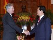 Primer ministro vietnamita recibe a funcionarios foráneos de alto nivel