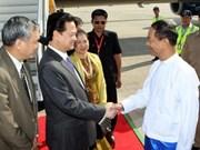 Premier vietnamita inicia visita oficial a Myanmar
