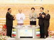 Inauguran cumbre de Subregión del Gran Mekong