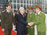 Máximo dirigente vietnamita urge a fuerzas policíacas a defender orden social