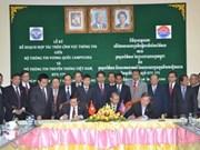 Vietnam y Cambodia fomentan cooperación de información