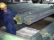 Acero vietnamita a punto de batir un récord exportación