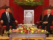 Dirigentes vietnamitas destacan nexos con China