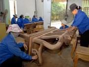 Vietnam incrementa exportación de productos madereros