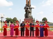 Monumental simboliza relaciones Vietnam-Cambodia