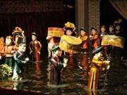 Marionetas acuáticas vietnamitas atraen espectadores franceses