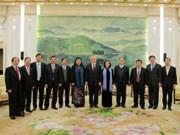 Concluye delegación parlamentaria vietnamita visita a China