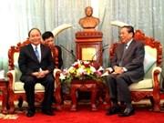 Vietnam y Laos intensifican cooperación bilateral