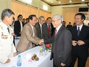 Líderes vietnamitas visitan provincias por el Tet