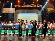Actividades humanitarias por los niños vietnamitas