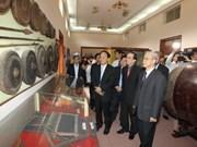 Dirigente partidista vietnamita visita Binh Dinh por el Tet
