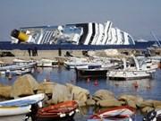 En buen estado de salud vietnamitas náufragos del barco Costa Concordia