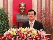 Mensajes de felicitación del Presidente en Año del Dragón