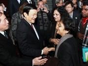 Presidente vietnamita destaca intercambio literario en Asia- Pacífico