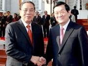 Vietnam y Laos profundizan relaciones