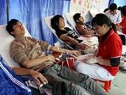 Inauguran campaña de donación de sangre en Vietnam