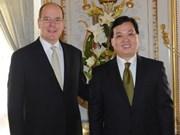 Príncipe de Mónaco aboga por mayores relaciones con Vietnam