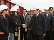 Presidente vietnamita recorre provincia central