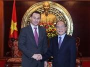 Vietnam y Bélgica fortalecen relaciones parlamentarias