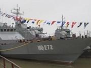 Mando regional recibe moderno buque de guerra