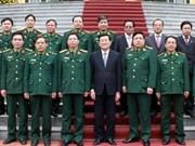 Presidente reafirma papel del ejército en defensa nacional