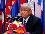 Presidente del Parlamento felicita reelección del titular del Senado cambodiano